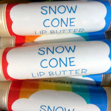Snow Cone Lip Butter ~ Lip Balm