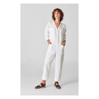 Washed Relaxed Linen Jumpsuit