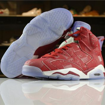 Air Jordan 6 Retro Slam Dunk Men Basketball Sneakers Sports Shoes