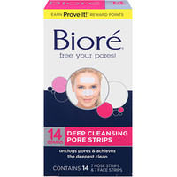 Walmart: Biore Deep Cleansing Combo Pack Pore Strips 14 Ct
