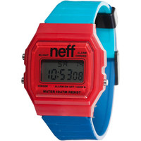 Neff - Flava XL Surf Red/Blue/Teal Watch