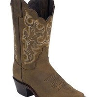 Justin Bay Apache Western Cowgirl Boots - Snip Toe - Sheplers