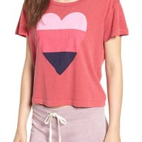 Sundry Heart Graphic Cotton Tee | Nordstrom