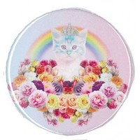 Rainbow Princess Kitty Compact Mirror from TOKYO HARDCORE