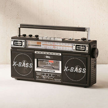 Radio + Cassette + MP3 Boombox - Urban Outfitters