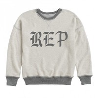 Reversible Terry Pullover