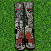 VIntage Starwars Socks,Custom socks,Personalized socks,Elite socks