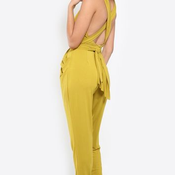 Getaway Multi Way Wrap Jumpsuit