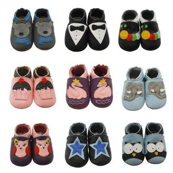 Baby Shoes Leather Soft Soled Boy Girl