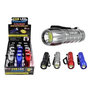 COB LED Flashlight - 15 Units