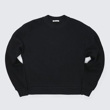 ‎‎Alexander Wang ‎EXCLUSIVE DENSE FLEECE SWEATSHIRT ‎ ‎TOP‎ | Official Site