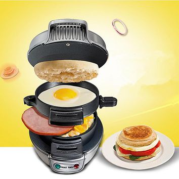 2018 New Cooking Tools Breakfast Sandwich Maker Hamburger Press Burger Maker Barbecue Household Kitchen Pizza BBQ Patty Maker
