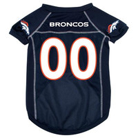Denver Broncos NFL Mesh Pet Jersey (Small)