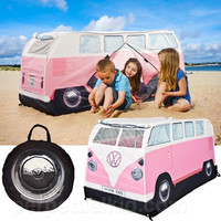 PINK VW CAMPER PLAY TENT