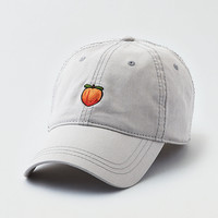 AEO Embroidered Graphic Baseball Cap, Gray