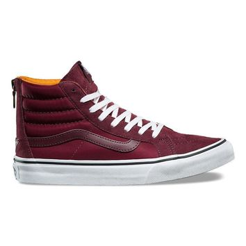 VANS BOOM BOOM SK8-HI SLIM ZIP - PORT ROYALE/TRUE WHITE