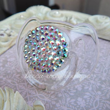 Avent Bling AB Crystal Rhinestone Pacifier Dummy