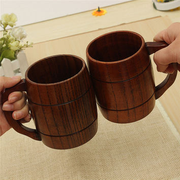 400ml wooden beer/tea/coffee cup mug