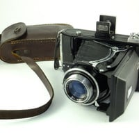Vintage Ikonta  521/2 Zeiss Ikon 1938 camera for 6x9 negatives, Folding Camera, unique rare gift Made in Germany