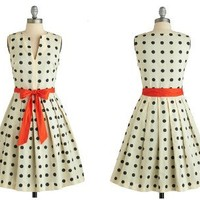 Retro To Go: Dice as Nice Dress by Eva Franco