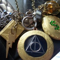 Harry Potter Horcrux Locket necklace please read by TheMeltonPot
