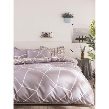 Geometric Print Bedding Set