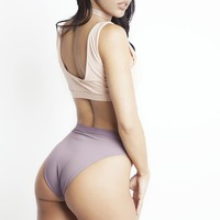 Chase High Waisted Bottom - 2 Colors