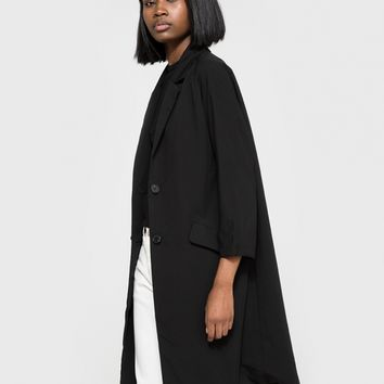 Stelen / Boyfriend Coat in Black
