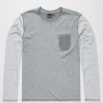 Hurley Winterlight 3 Mens T-Shirt Heather Grey  In Sizes