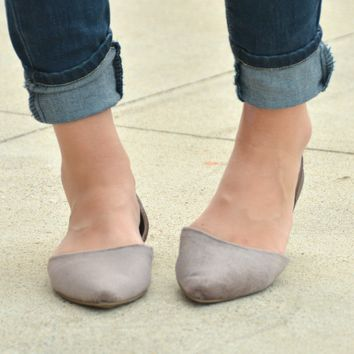A Moment In Time Flats - Taupe