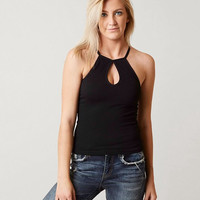 SUZETTE HIGH NECK TANK TOP