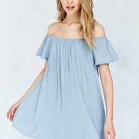 Silence + Noise Off-The-Shoulder Swing Dress - Urban Outfitters