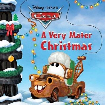 Disney Pixar Cars Very Mater Christmas