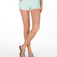 Klique B Paisley Print Stretch Short