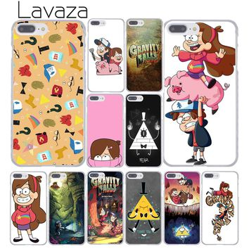 Lavaza Mabel Gravity Falls Family Art 3 Hard Coque Shell Phone Case for Apple iPhone 8 7 6 6S Plus X 10 5 5S SE 5C 4 4S Cover