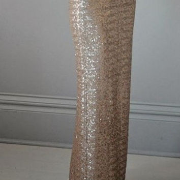 Sequins Maxi Skirt- Gorgeous high quality sequins skirt- Long sequined skirt in different colors.