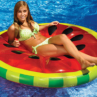 Watermelon Slice Pool Island