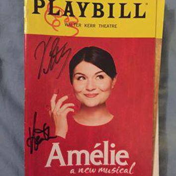 Amelie Playbill Signed