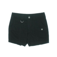 Style & Co. Womens Petites Twill Tummy Control Casual Shorts
