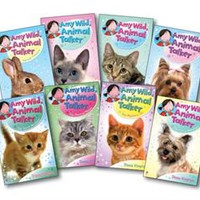 Usborne Books & More. Amy Wild Animal Talker Complete Library Collection (8)