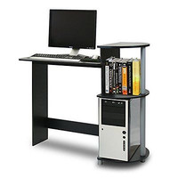 Home Office Furniture Computer Desk Kids Bedroom Furniture Compact Small Black