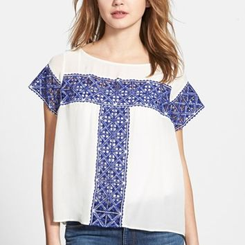 Women's Plenty by Tracy Reese Cutwork Tee