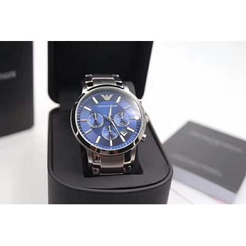 PEAP A0007 Armani Emporio Basel memorial Fashion Waterproof Watches Blue