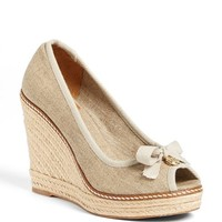 Tory Burch 'Jackie' Espadrille Wedge