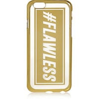 River Island Womens Gold tone iPhone 6 flawless phone case