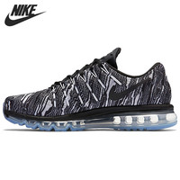 Original New Arrival 2016 NIKE AIR MAX  PRINT  Men's  Texture pattern   Running Shoes Sneakers free shipping
