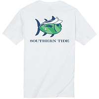 On The Green Tee Shirt in Classic White by Southern Tide