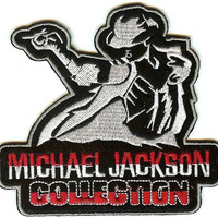 Michael Jackson Iron-On Patch Collection Logo