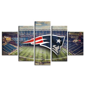 New England Patriots wall art on canvas picture print poster
