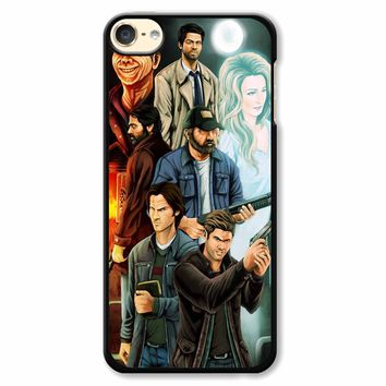 Supernatural Fanart iPod Touch 6 Case